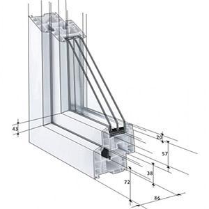 Rehau Прозорци от Euro-Design 86 Plus